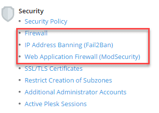 security-options