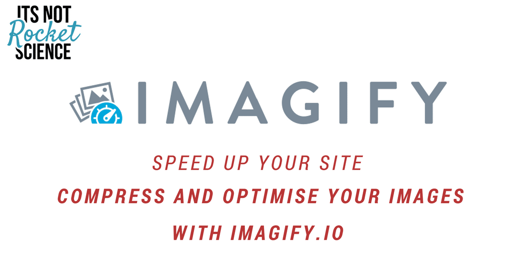 Speed up your site – optimise your images