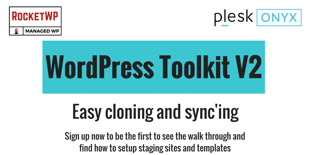Plesk Oynx WordPress Toolkit version 2.0