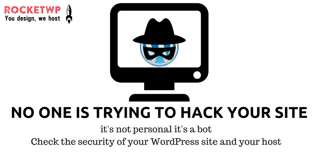 No one is trying to hack your site – it's a bot!